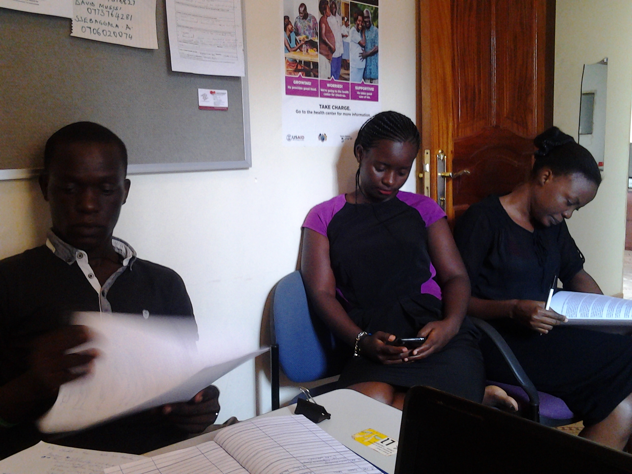 A visit from Urgent Action Fund -Africa